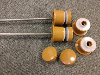 Powder coated juliette adaptors