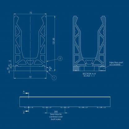 Balcony seal kit